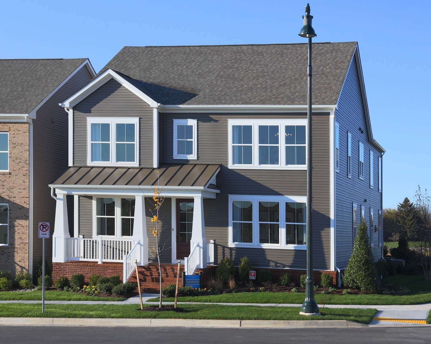 Three Single Family Homes For Winchester Homes:The Winston