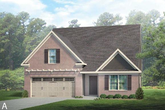 Elevation A:Front Brick Option