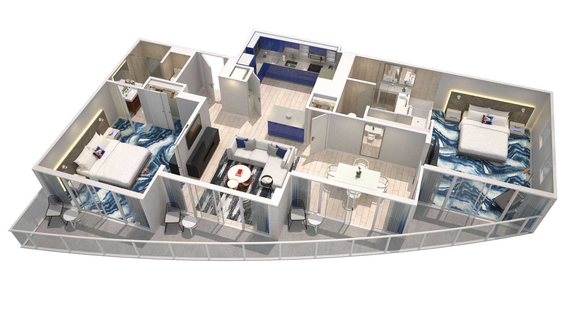 Oasis Floorplan