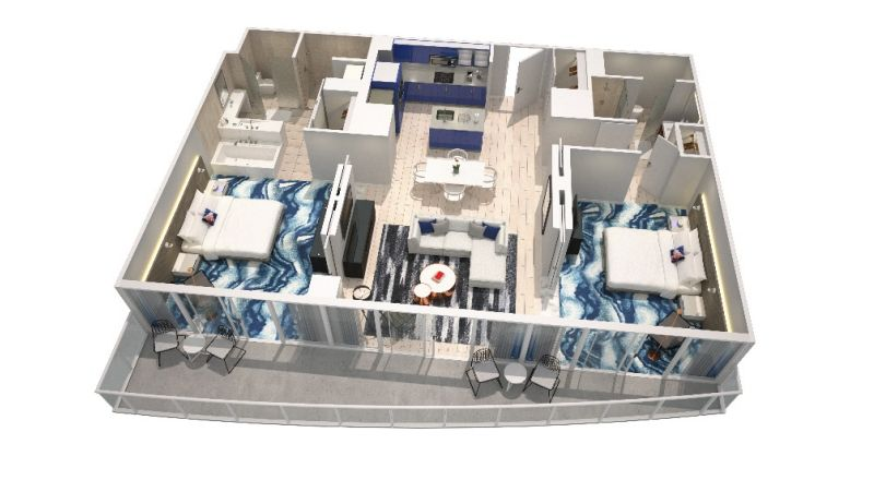 Ocean Retreat Floorplan