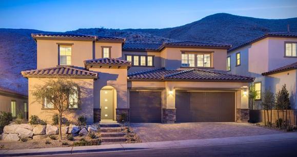 Elevation:Woodside Homes - Tarrega Plan