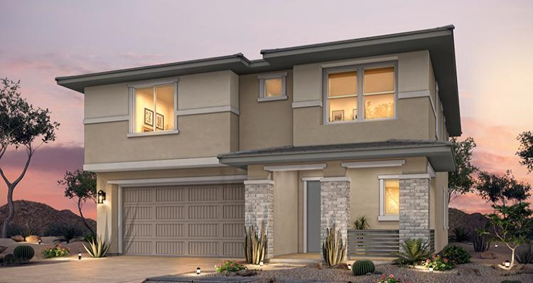 Elevation:Woodside Homes - Hermosa Plan 4