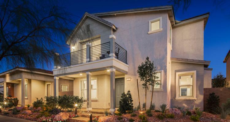 Elevation:Woodside Homes - Gardenia Plan