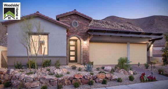 Elevation:Woodside Homes - Bellini Plan