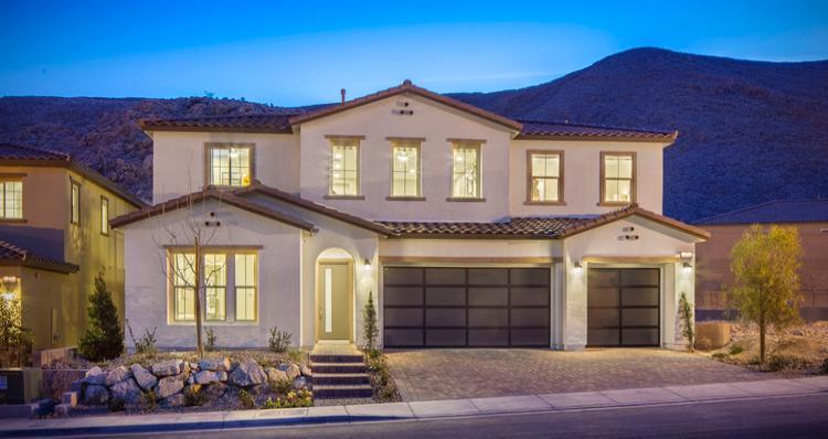 Elevation:Woodside Homes - Sarasate Plan