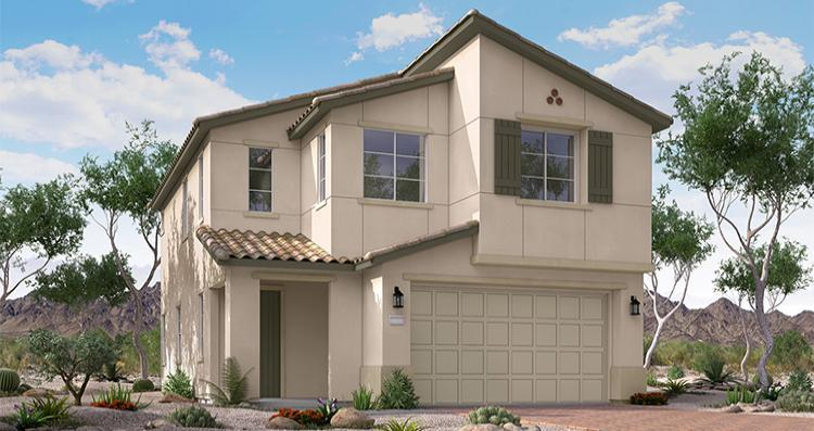 Elevation:Woodside Homes - Carlotta Plan 1
