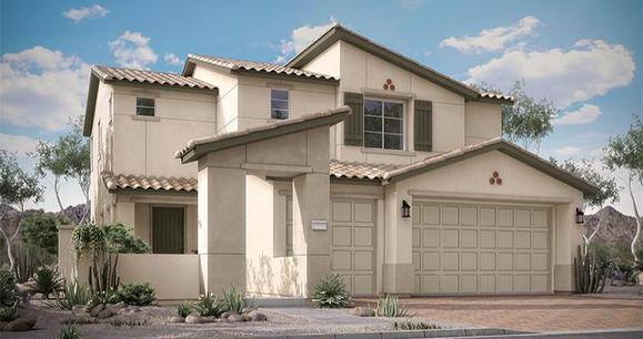 Elevation:Woodside Homes - Justicia Plan 4