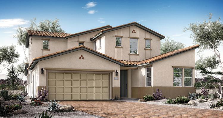 Elevation:Woodside Homes - Antonella Plan 7
