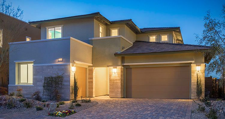 Elevation:Woodside Homes - Biella Plan - Model Home!