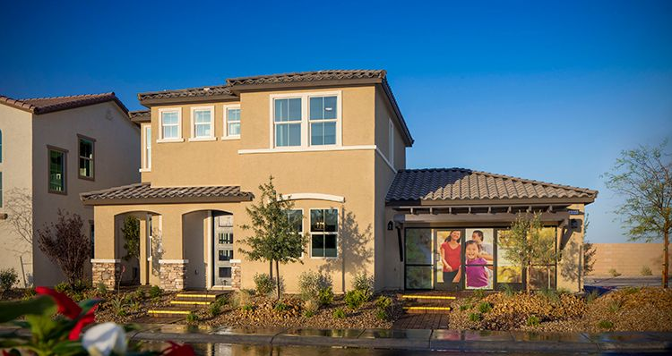Elevation:Woodside Homes - Ashley Plan - Model Home!