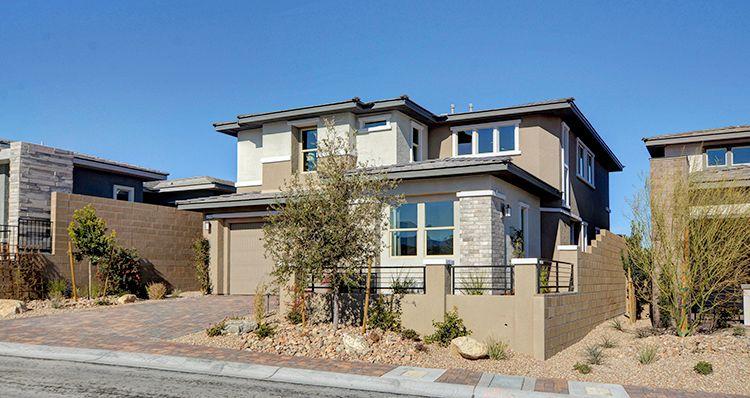 Elevation:Woodside Homes - Davenport Plan 6