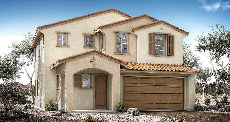 Elevation:Woodside Homes - Cedar Plan 2