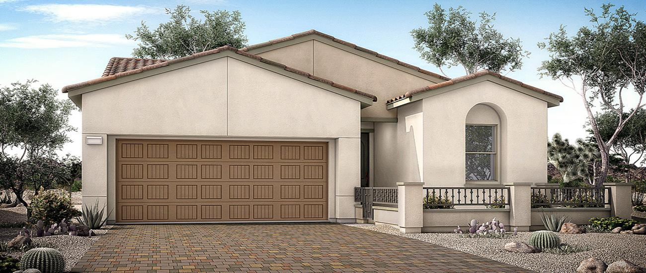 Woodside Homes Crystal Canyon in Summerlin Collection One