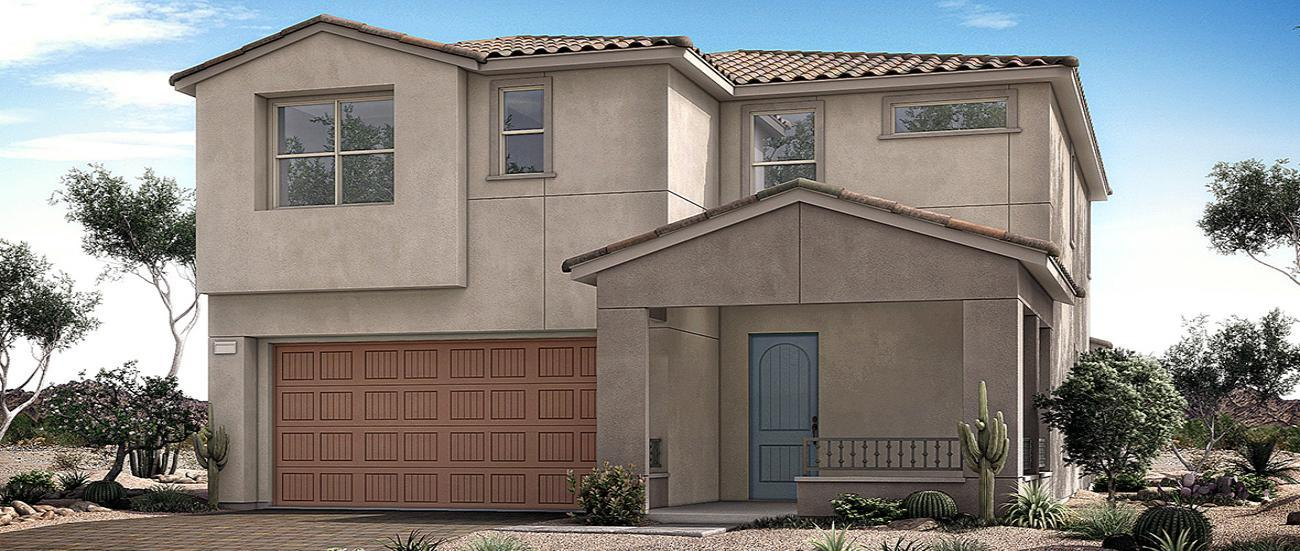 Woodside Homes Crystal Canyon in Summerlin Collection Two