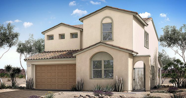 Elevation:Woodside Homes - Mojave Plan 6