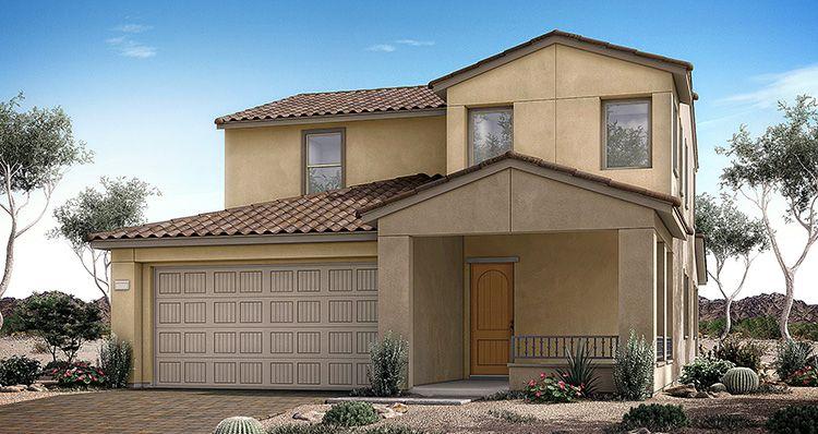 Elevation:Woodside Homes - Sierra Plan 5