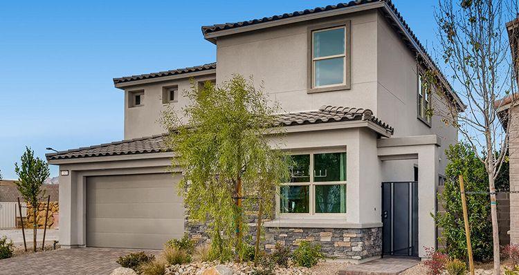 Elevation:Woodside Homes - Mojave Plan 6