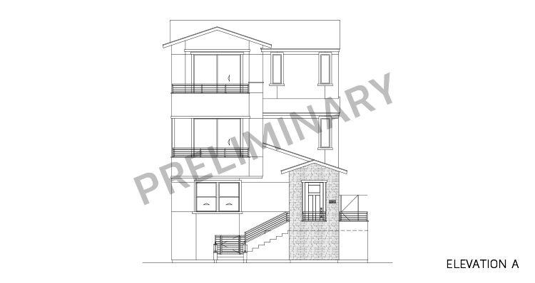 Elevation:Woodside Homes - Sapphire Plan 5