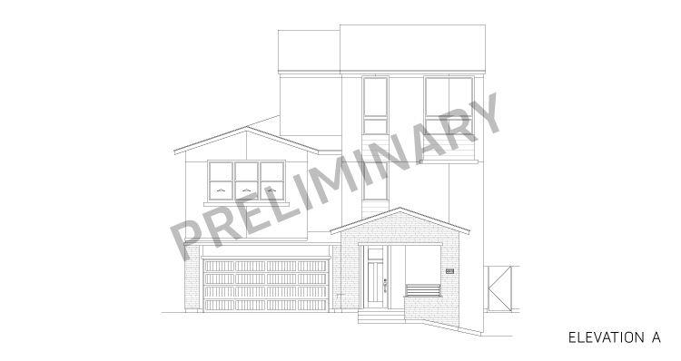 Elevation:Woodside Homes - Amber Plan 3