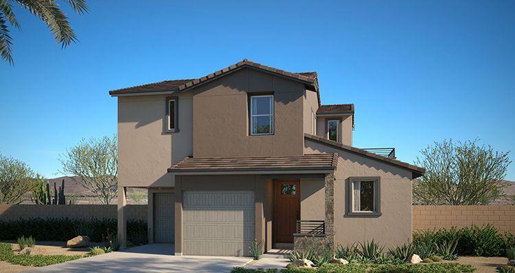 Elevation:Woodside Homes - Jade Plan 1