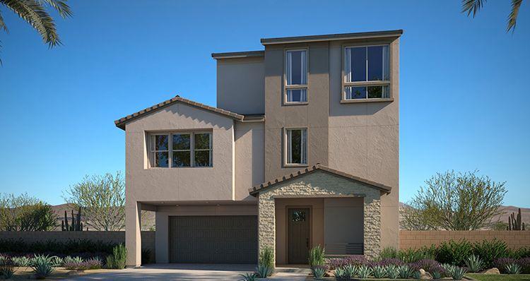 Elevation:Woodside Homes - Amber Plan 3 - Lot 10