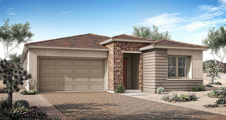 Elevation:Woodside Homes - Vezio Plan 2 - Lot 29