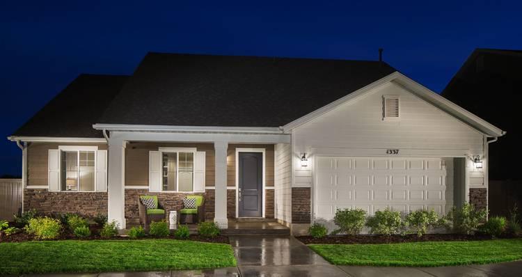 Elevation:Woodside Homes - Gala II- SWP