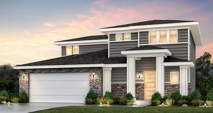 Elevation:Woodside Homes - Amesbury - SWH