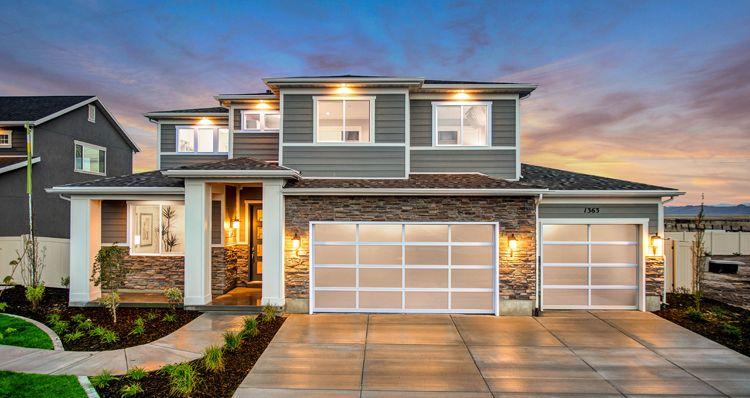 Elevation:Woodside Homes - Hampton Estate - SWP