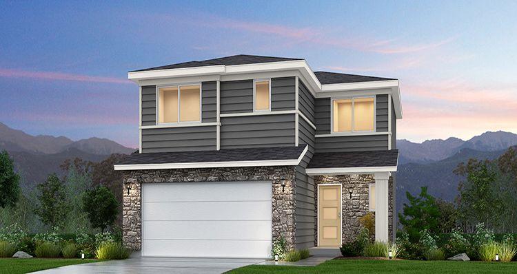 Elevation:Woodside Homes - Juniper - SWS