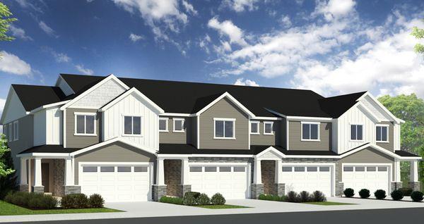 Elevation:Woodside Homes - Princeton - DRE
