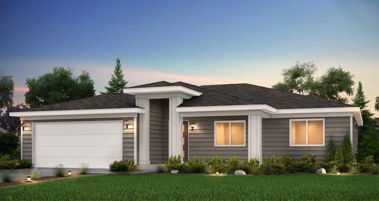 Elevation:Woodside Homes - Gala - SCP