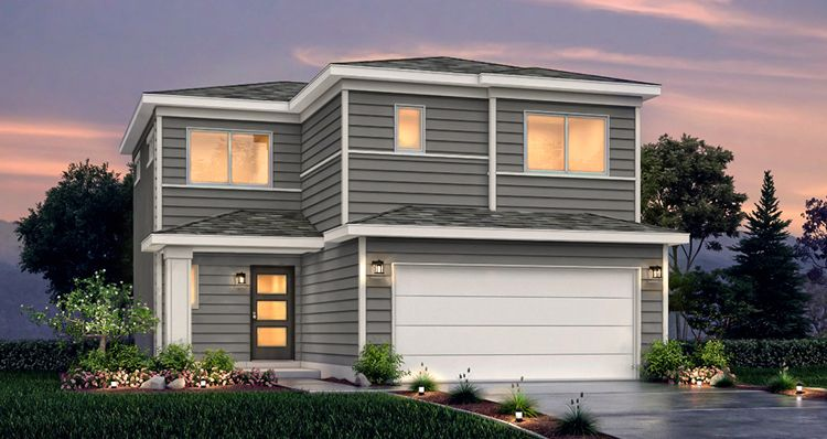 Elevation:Woodside Homes - SCV- Juniper