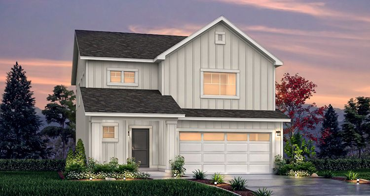 Elevation:Woodside Homes - SCV - Spruce