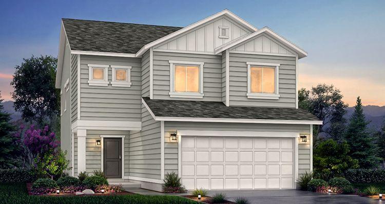 Elevation:Woodside Homes - SCV - Boxelder