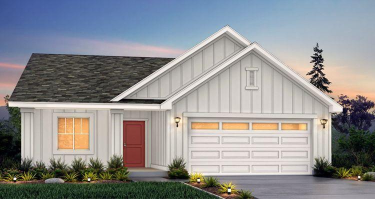 Elevation:Woodside Homes - Sage - SCG