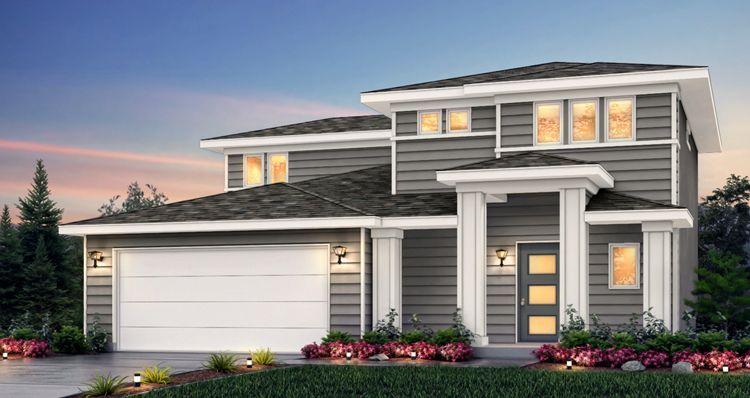 Elevation:Woodside Homes - Amesbury - SCG