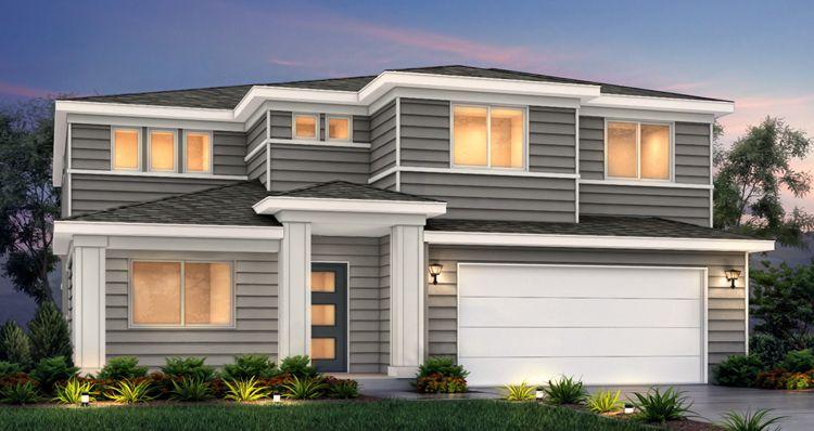 Elevation:Woodside Homes - Hampton Estate - SCG