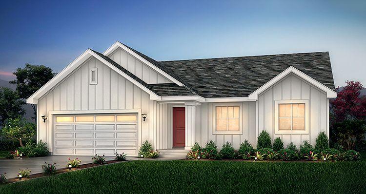 Elevation:Woodside Homes - Hanbury - HC
