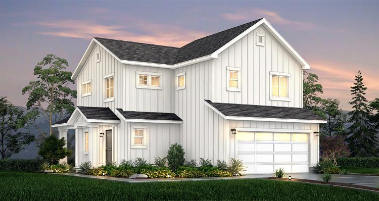 Elevation:Woodside Homes - Maple -SPV