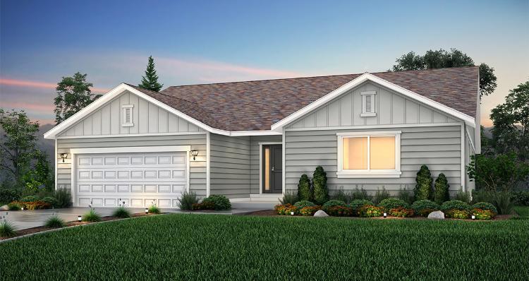 Elevation:Woodside Homes - Sagecrest - LTC