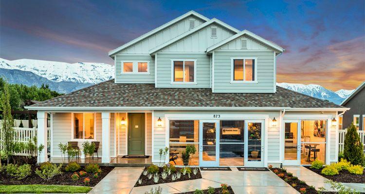 Elevation:Woodside Homes - Addison - SCG