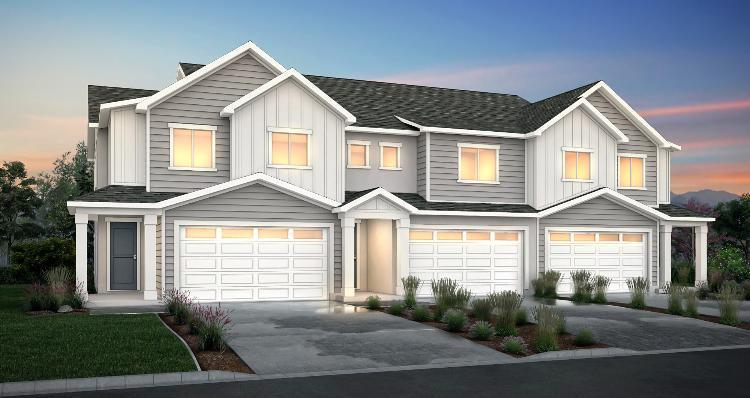 Elevation:Woodside Homes - Harvard - SPE