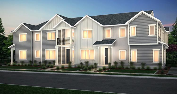Elevation:Woodside Homes - Lincoln - SPL