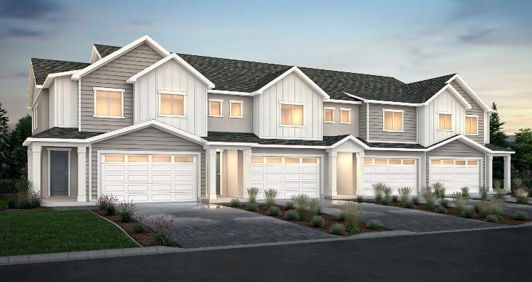 Elevation:Woodside Homes - Cornell - SPE
