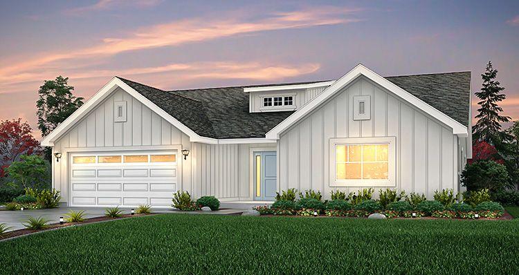 Elevation:Woodside Homes - Sagecrest - SCP