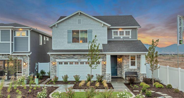 Elevation:Woodside Homes - Spruce - SWS