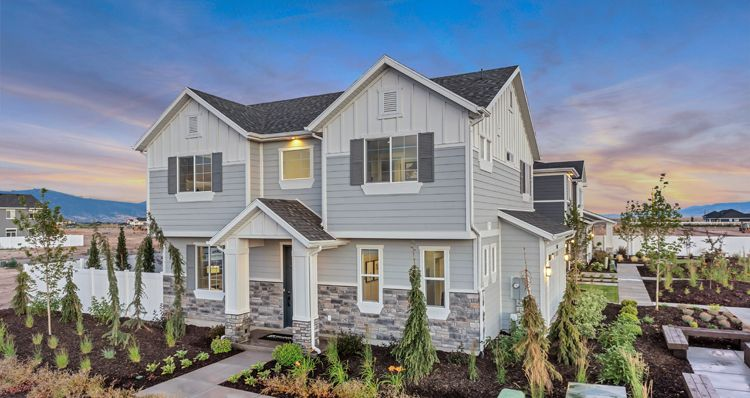 Elevation:Woodside Homes - Aspen - SWS