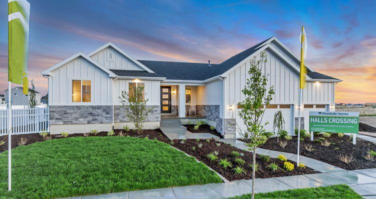 Elevation:Woodside Homes - Barrington - HC