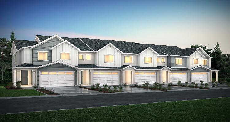 Elevation:Woodside Homes - Princeton - SPE